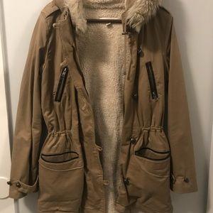 Calvin Klein Fur Lined Parka